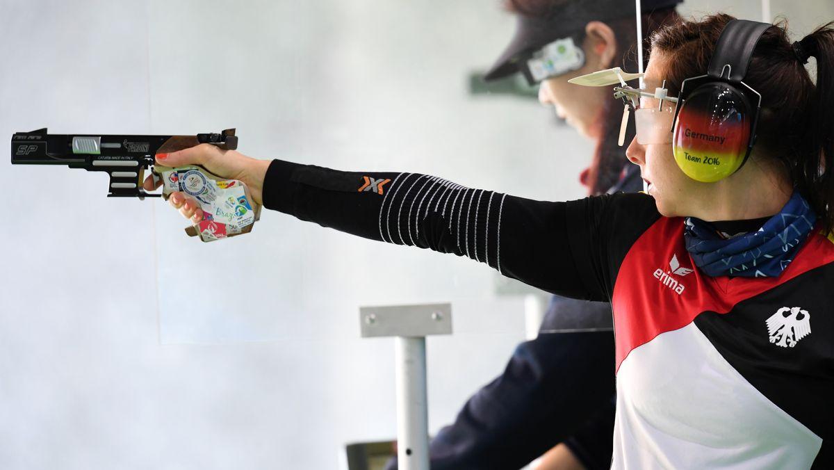 Monika Karsch bei den Olympischen Spielen 2016 in Rio de Janeiro.