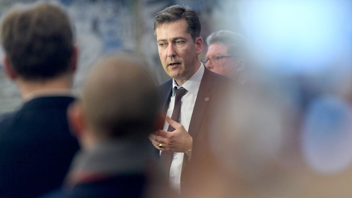 Würzburgs Oberbürgermeister Christian Schuchardt