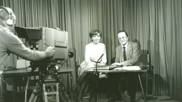 Carolin Reiber und Rudolf Mühlfenzl im Jahr 1979