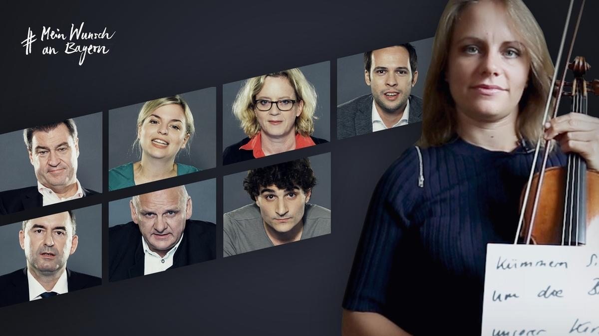 Julia Fischer bei #MeinWunschAnBayern