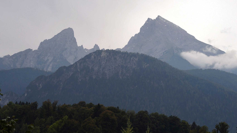 Watzmann von Berchtesgaden aus gesehen