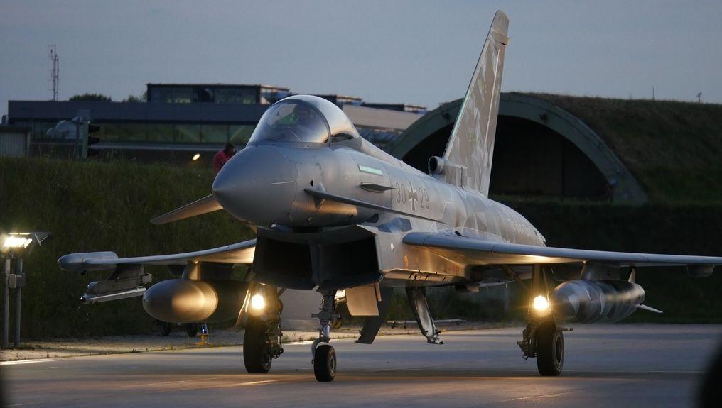 Nachtflüge Eurofighter