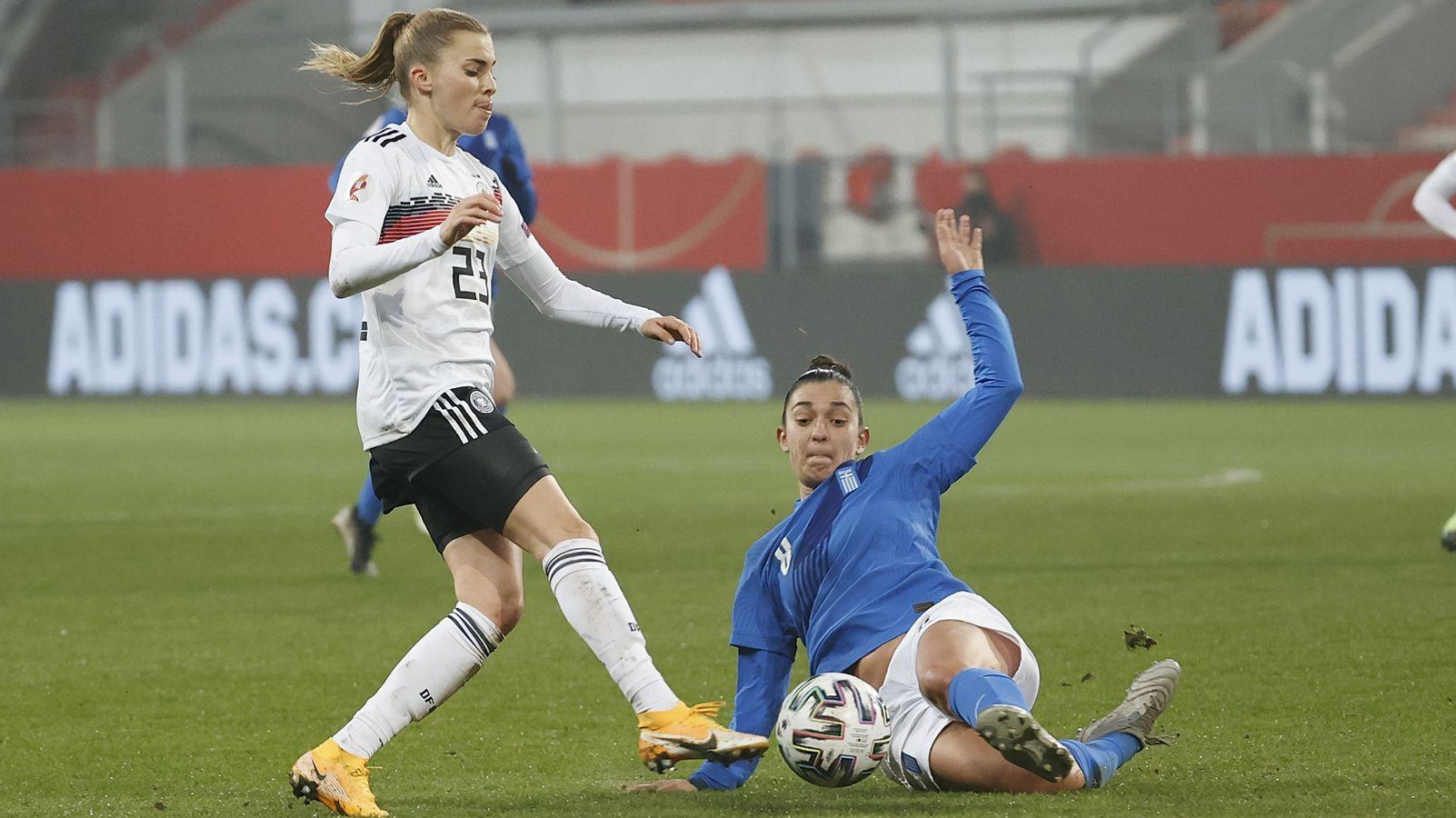 DFB-Frauen setzen Erfolgsserie auch gegen Griechenland fort