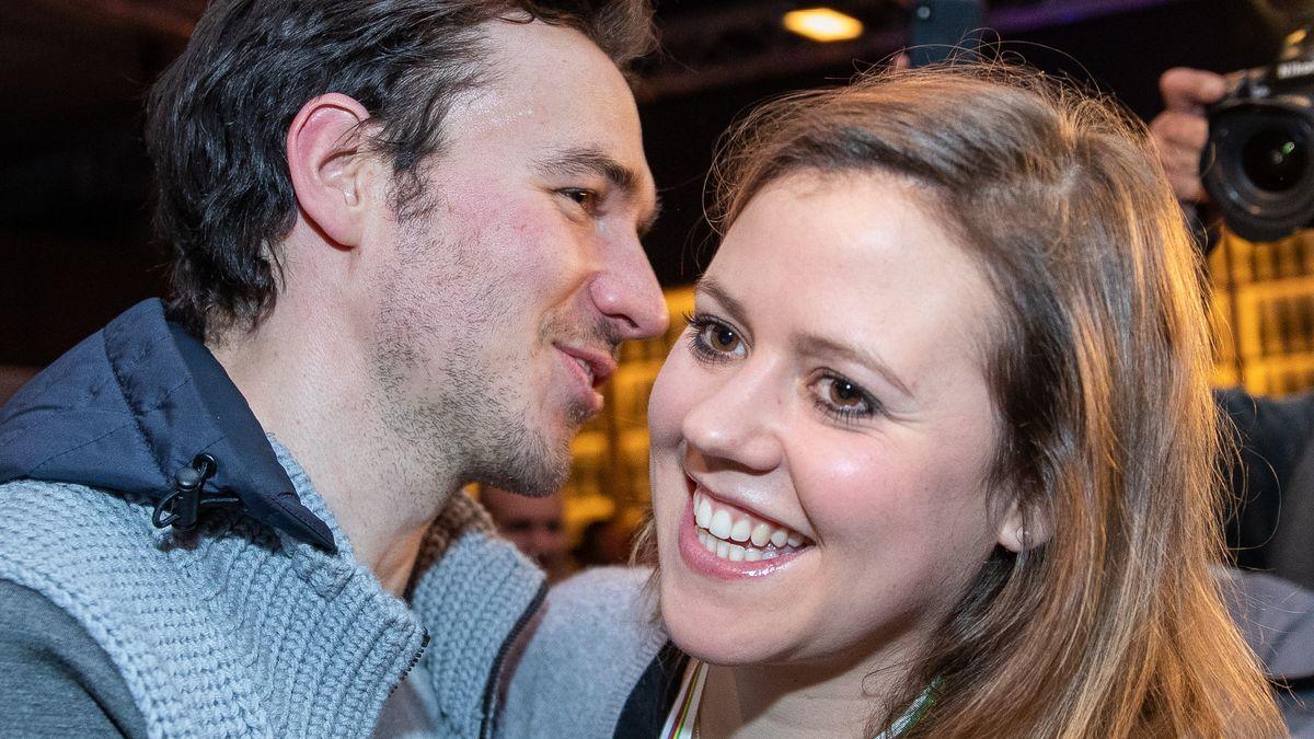 Felix Neureuther und Viktoria Rebensburg bei der Ski-WM in Are 2019