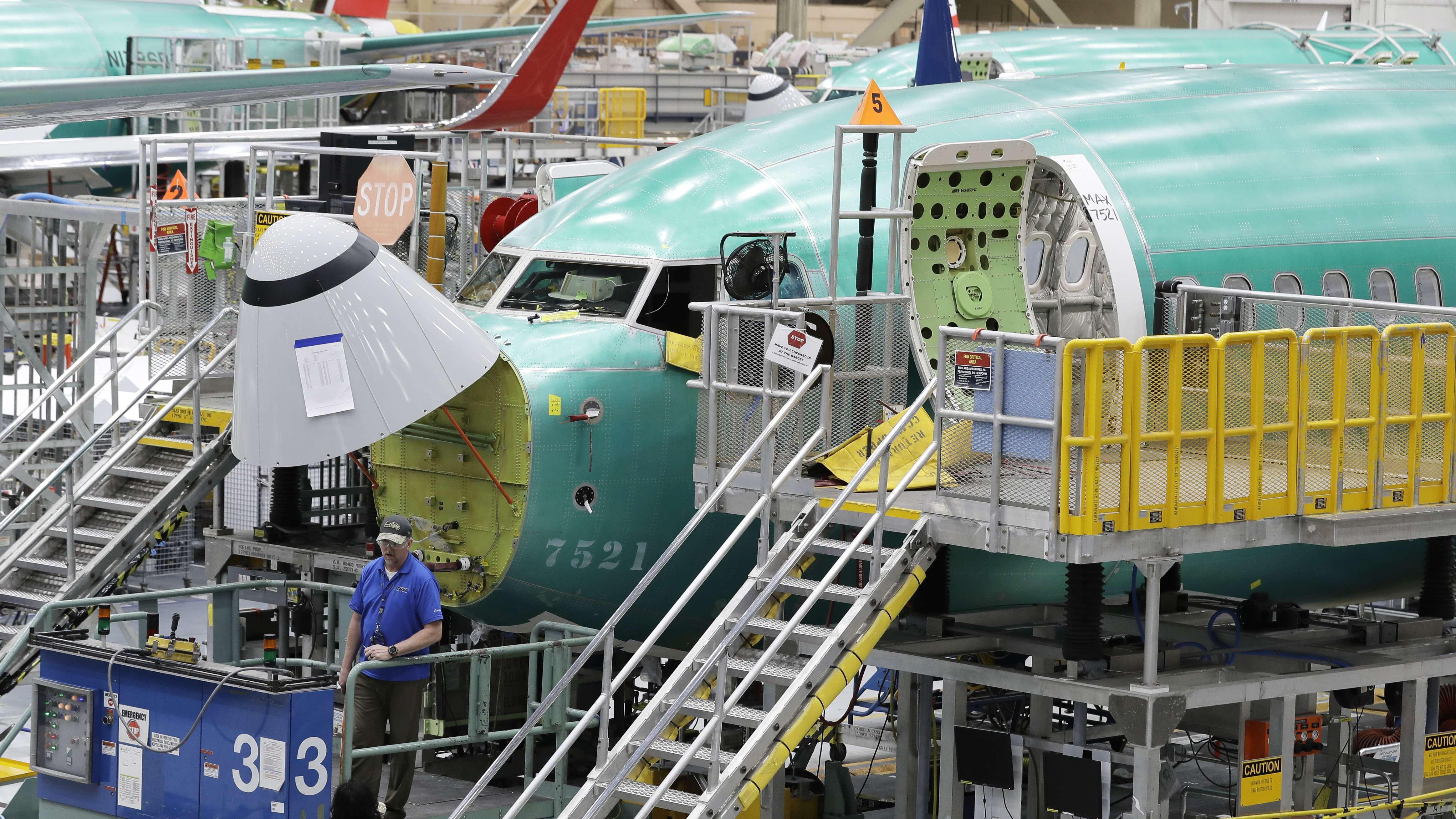 Anhaltendes Flugverbot: Boeing drosselt 737 MAX-Produktion
