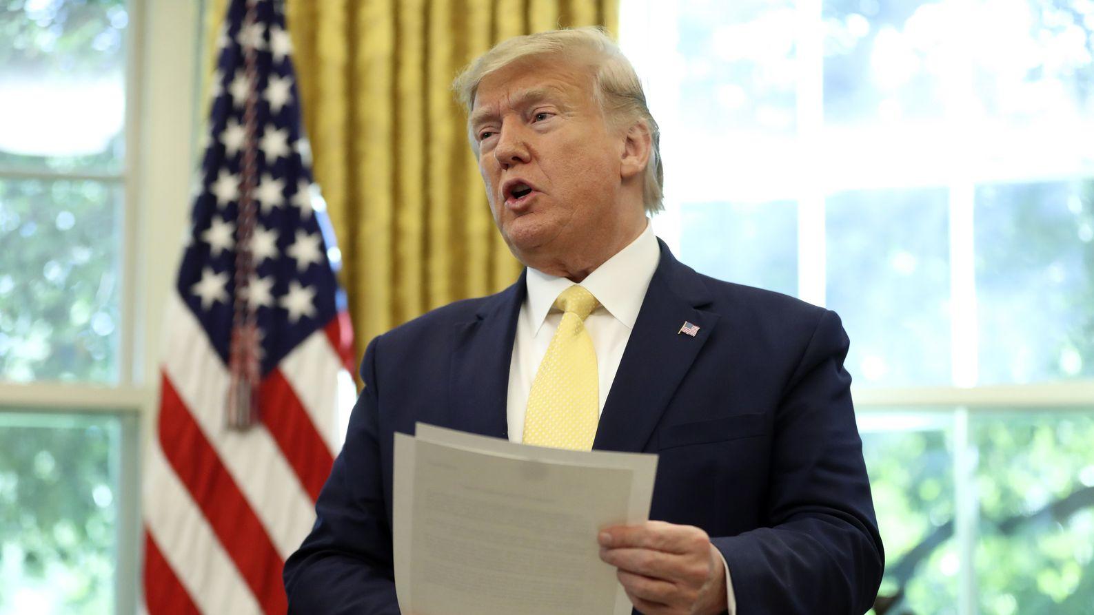 Trump verkündet Teileinigung mit China im Handelsstreit