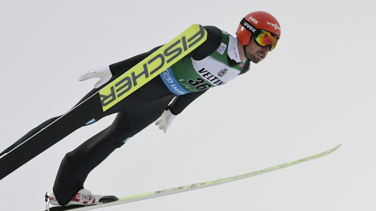 Nordische Kombination: Johannes Rydzek beim Springen