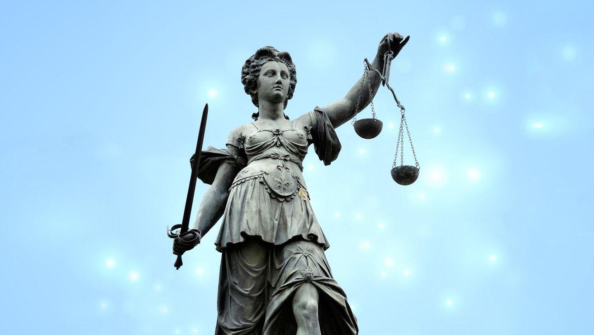 Justitia-Statue (Symbolbild)