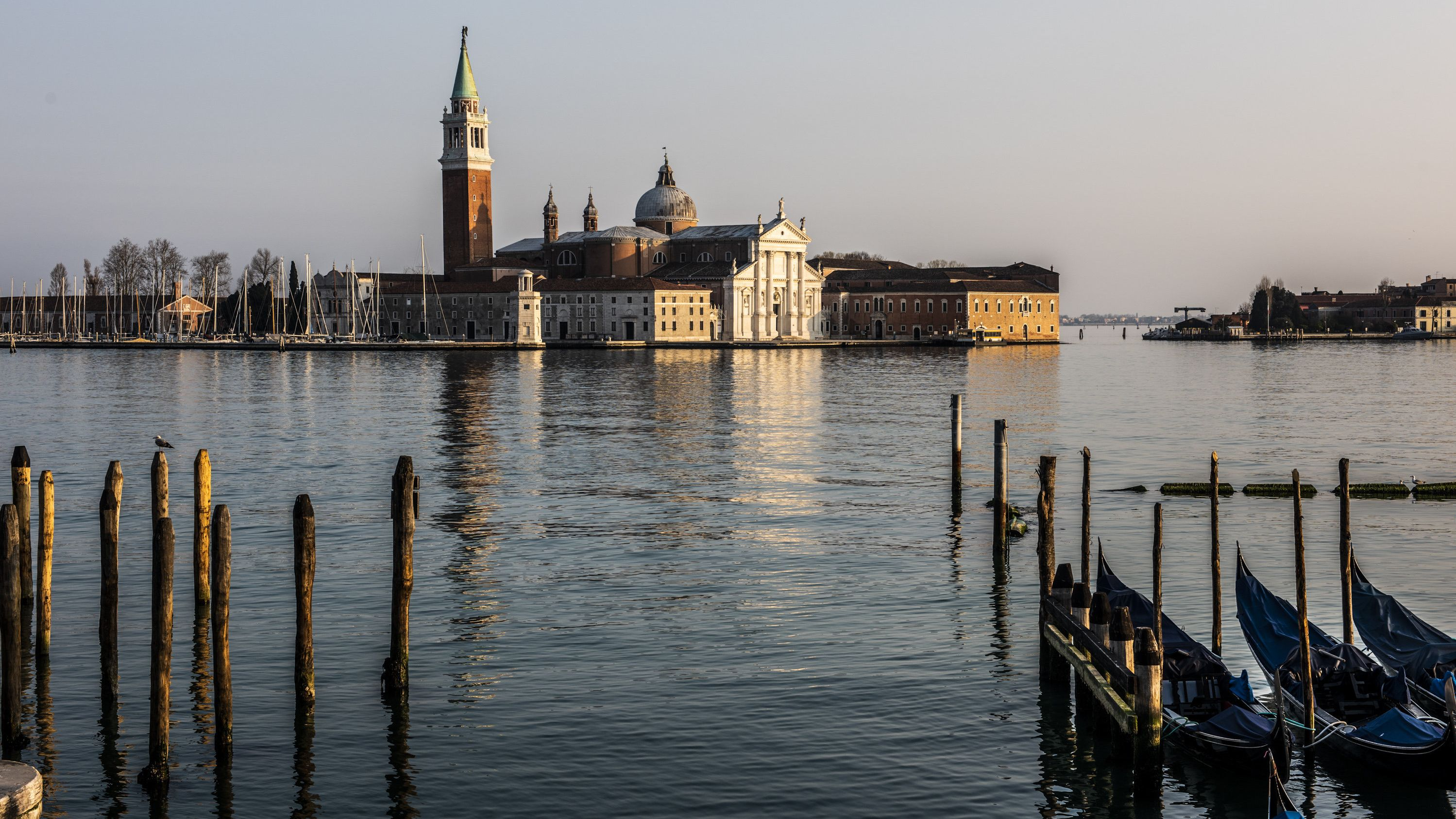 Venedig bei Sonneuntergang