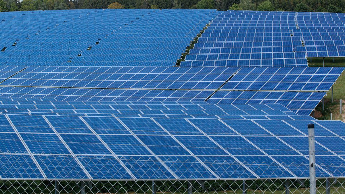Solarpark auf Freiflächen (Archiv)