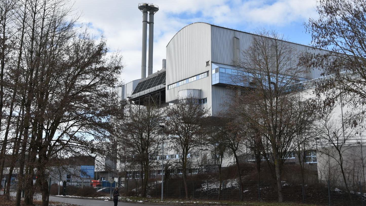Mülllverbrennungsanlage in Weißenhorn