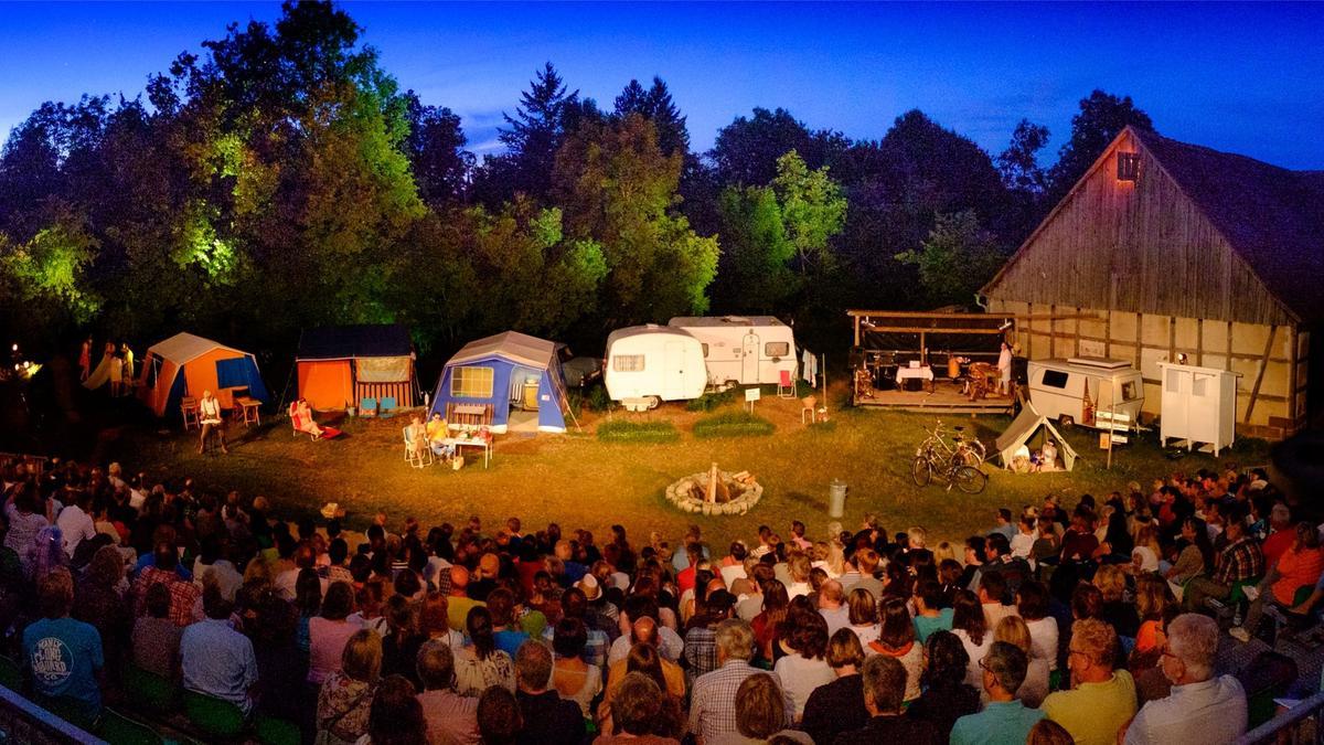 Sommertheater auf dem Gelände des Freilandmuseums