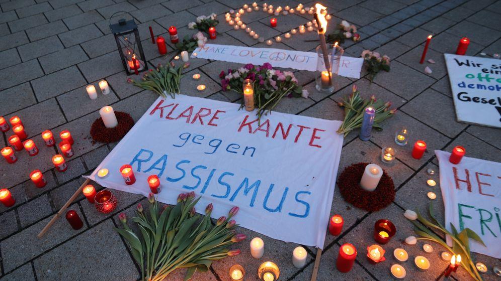 Mahnwache in Oberstdorf am 21.02. | Bild:Benjamin Liss/News 5