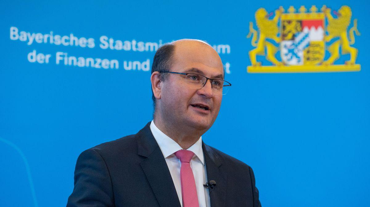 Bayerns Finanzminister Albert Füracker (CSU).