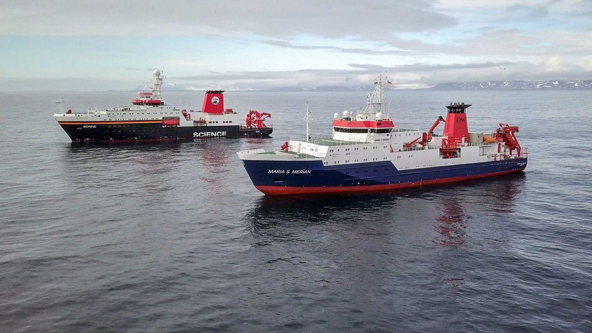 Crew-Wechsel auf der Polarstern