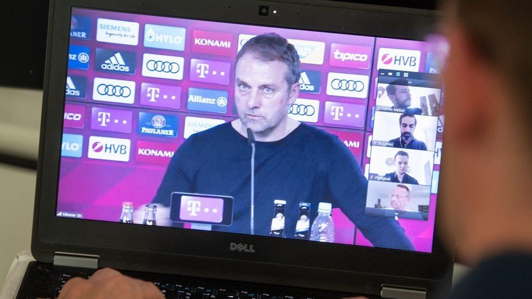 Pressekonferenz FC Bayern