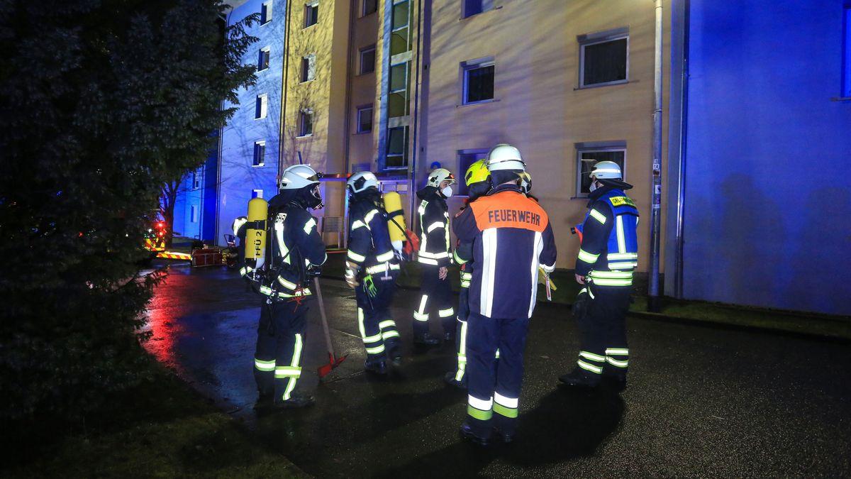 Mehrfamilienhaus in Schweinfurt nach Brand evakuiert