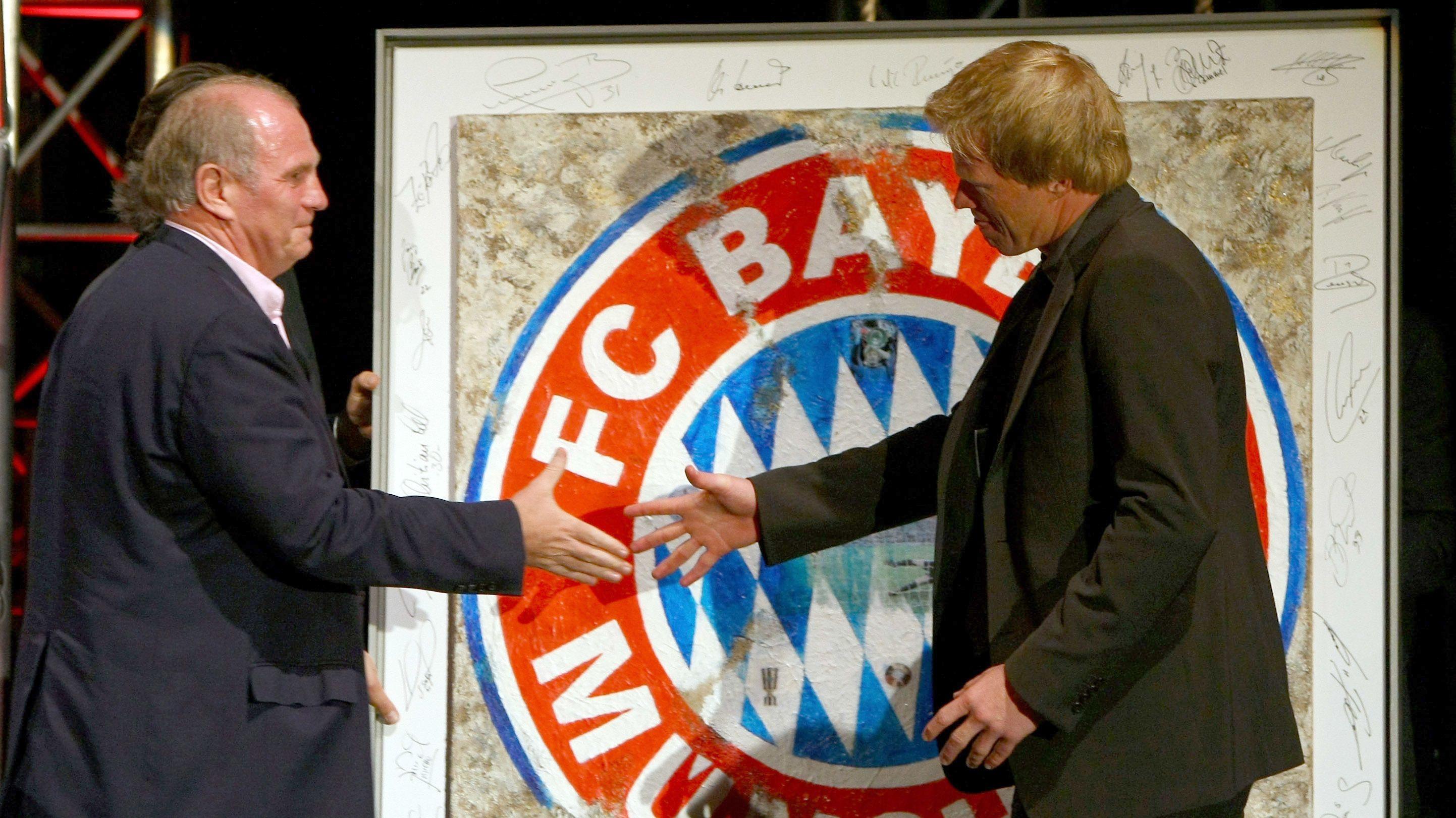 Uli Hoeneß und Oliver Kahn