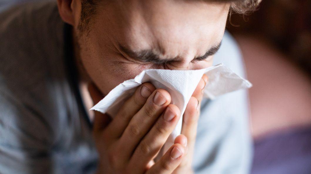 Die Grippe-Saison verlief bisher mit deutlich niedrigen Zahlen als 2019.