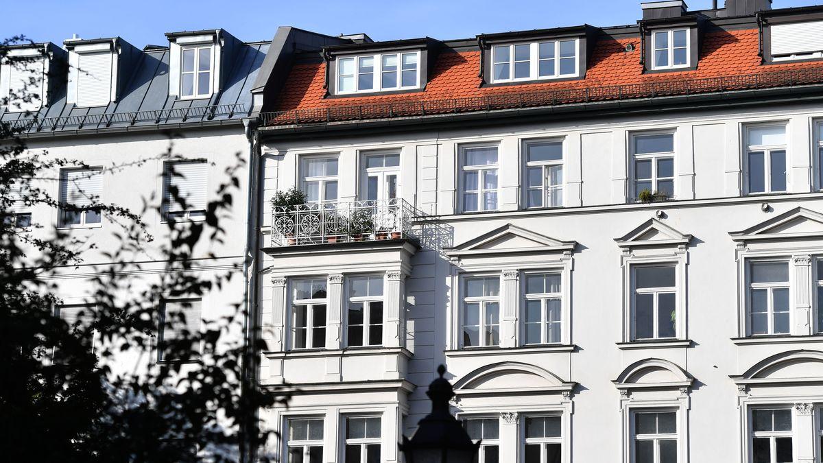 Fassade im Lehel, München