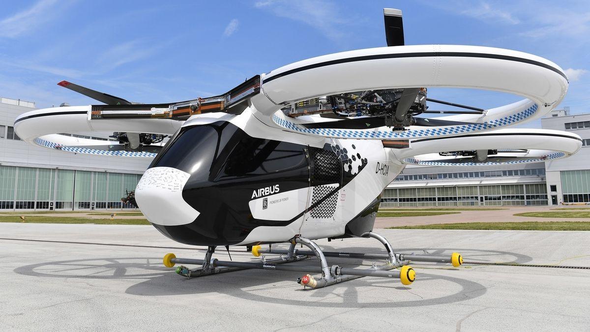 Das Airbus Flugtaxi