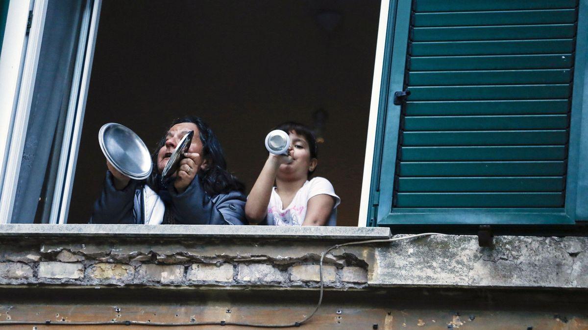 Balkonmusik in Italien