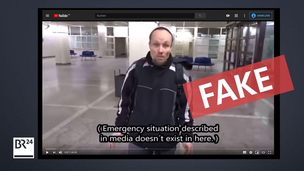 Ein rechter Blogger betreibt mit einem Video über ein Berliner Klinikum Desinformation.