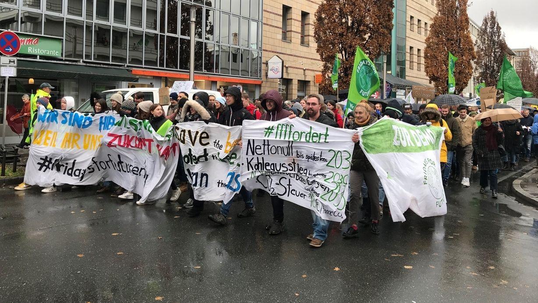 Fridays for Future Demo in Nürnberg