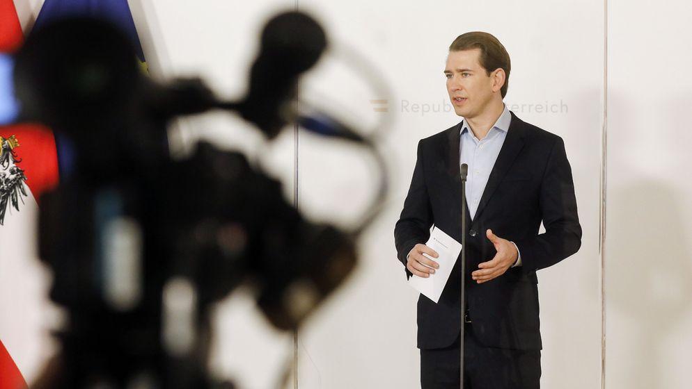 Österreichs Bundeskanzler Sebastian Kurz (ÖVP) | Bild:dpa-Bildfunk
