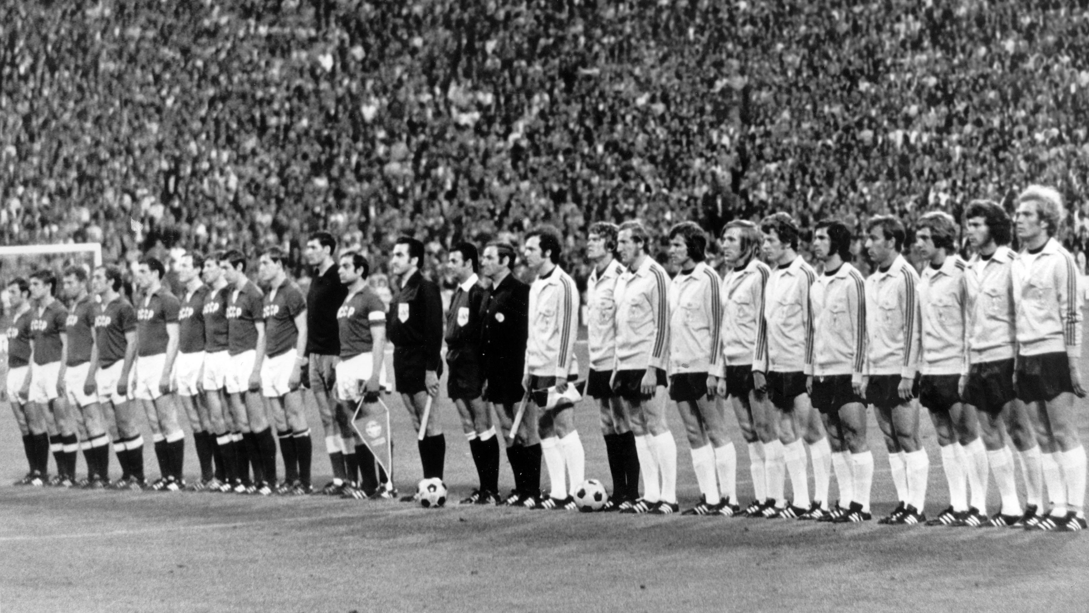Eröffnungsspiel Münchner Olympiastadion 1972: Deutschland - UdSSR