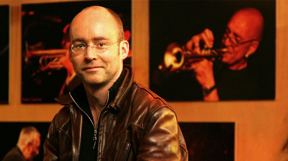 Der Wirt der Jazzbar Vogler: Thomas Vogler