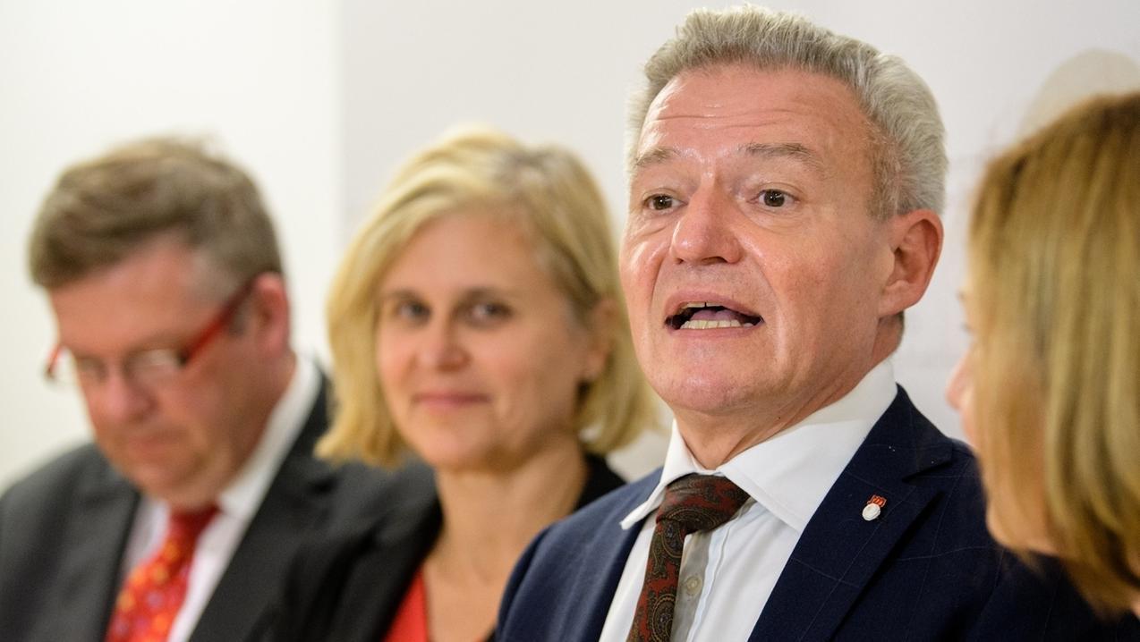 Horst Arnold, Vorsitzender der SPD-Landtagsfraktion