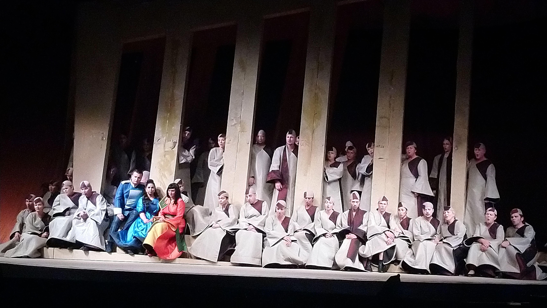 Die Oper zum Auftakt der Schlossfestspiele kam beim Publikum gut an