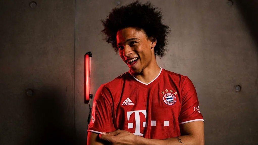 Leroy Sané im FC-Bayern-Trikot