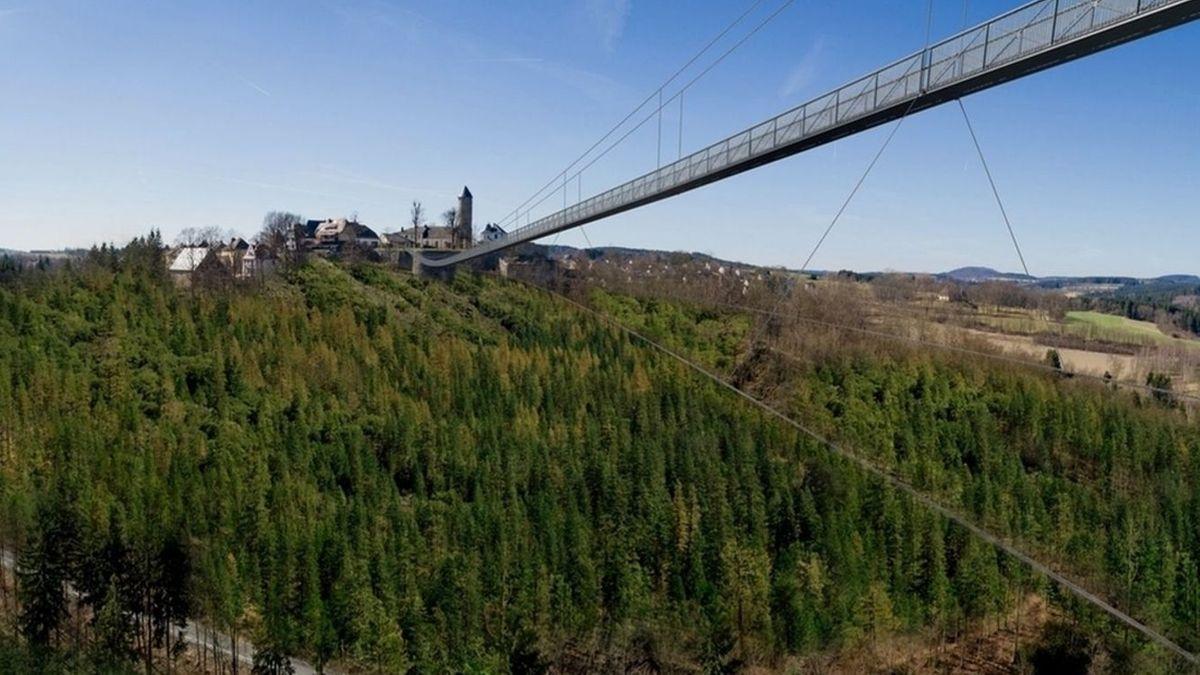 Der Bau der Höllentalbrücke bleibt umstritten.
