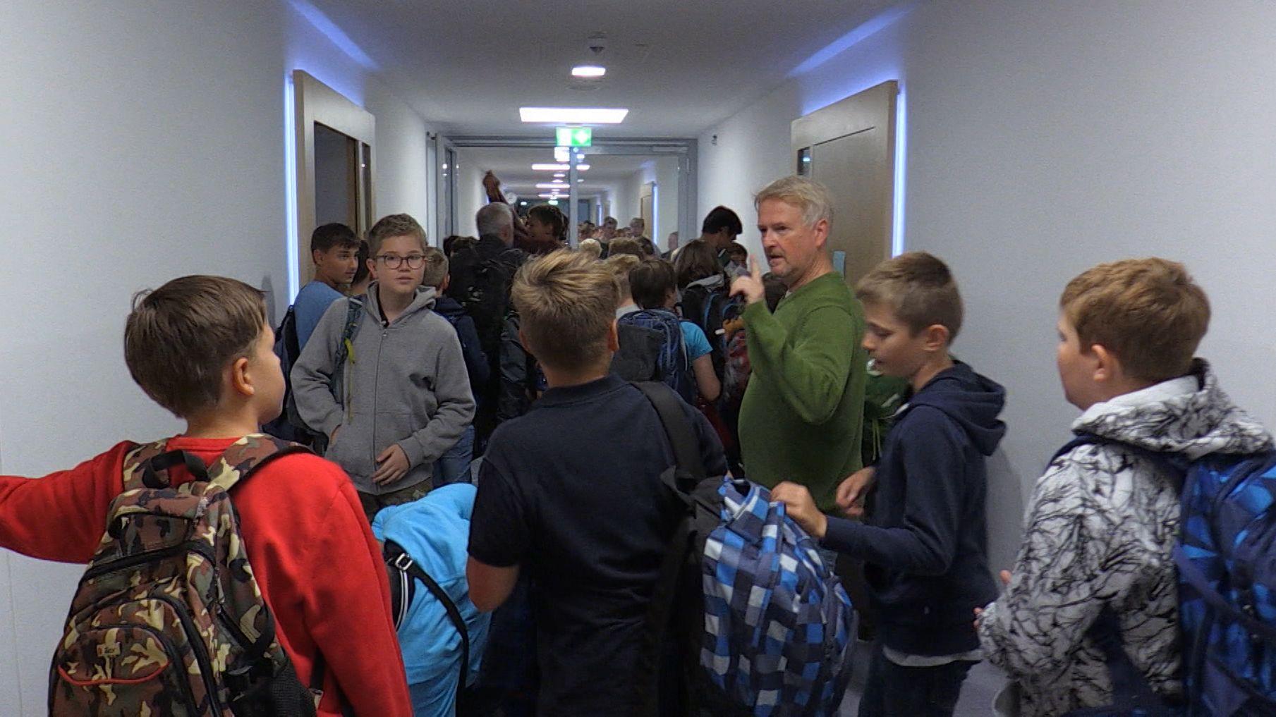 Schulanfang für die Regensburger Domspatzen