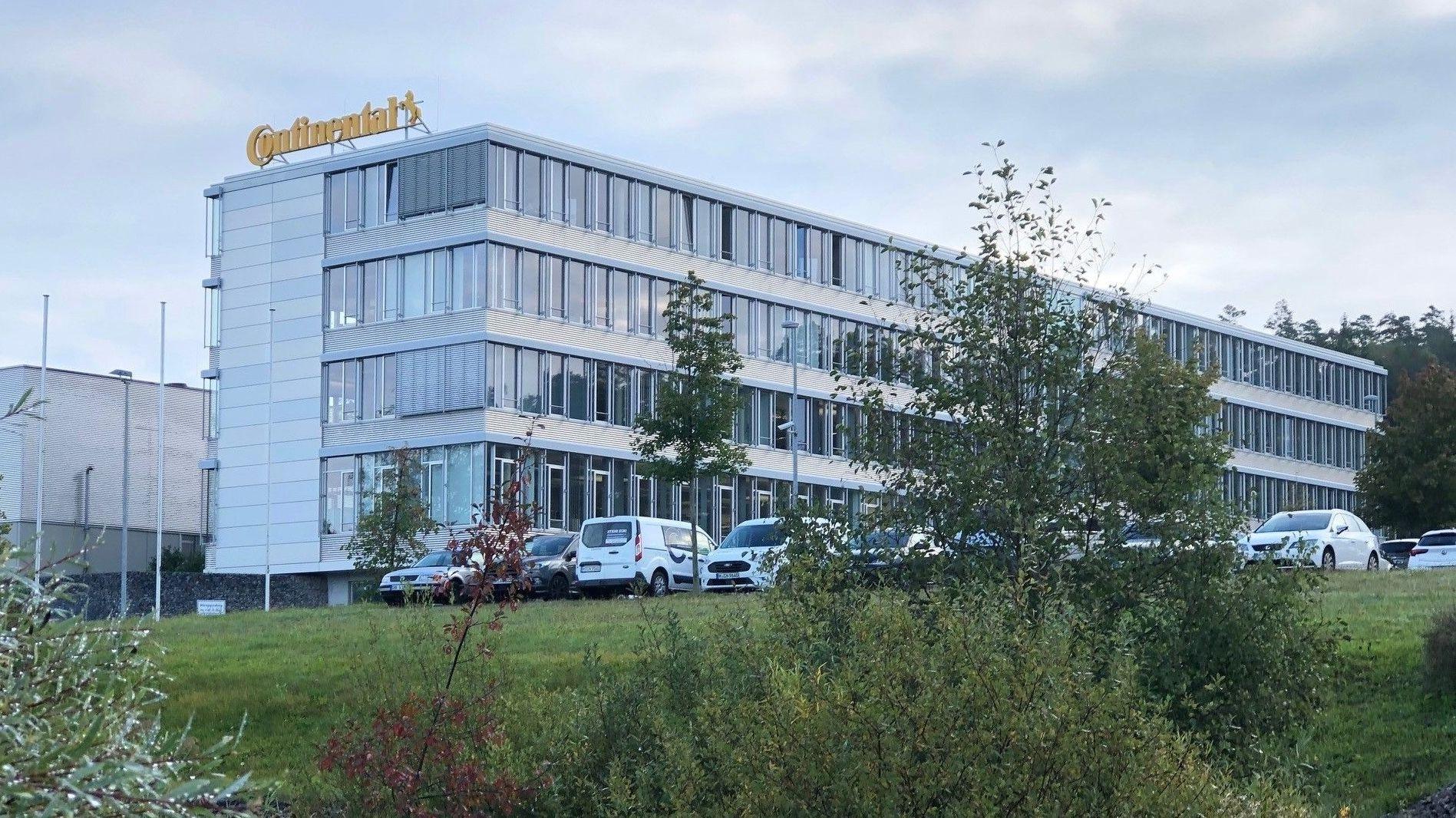 Continental-Werk in Roding im Landkreis Cham
