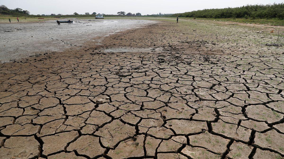 Laut Weltwetterorganisation (WMO) war 2020 eines der drei wärmsten je registrierten Jahre. Viele Flüsse vertrockneten. Im Bild: der Río Paraguay