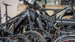 Brand in einem Treuchtlinger E-Bike-Geschäft   Bild:News5
