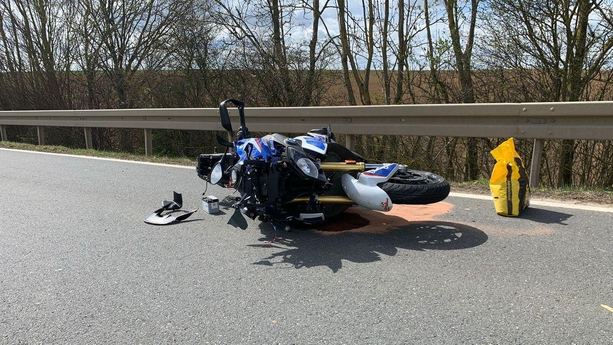 Motorradfahrer stirbt nach schwerem Unfall bei Willanzheim