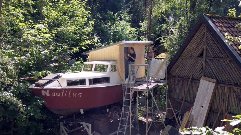 Schiff als Ferienunterkunft