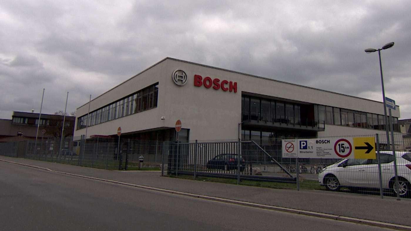 Firmengelände von Bosch in Bamberg.