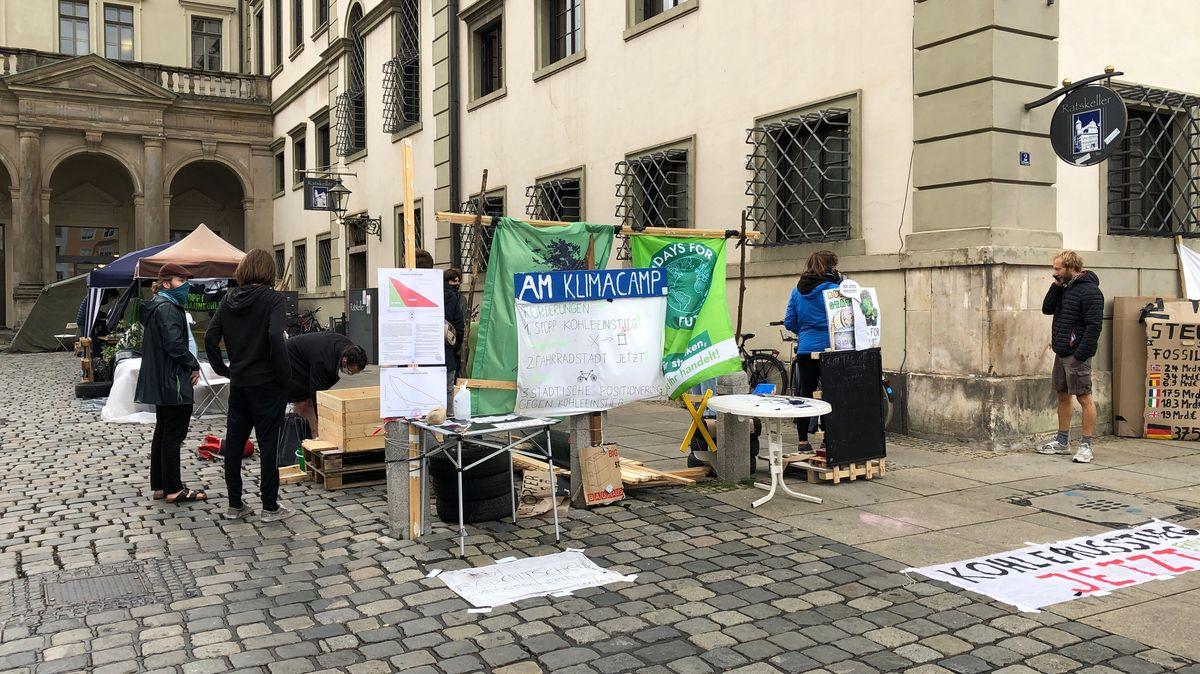 """Klima-Camp"" in Augsburg"