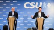 Horst Seehofer und Markus Söder (beide CSU) | Bild:dpa-Bildfunk