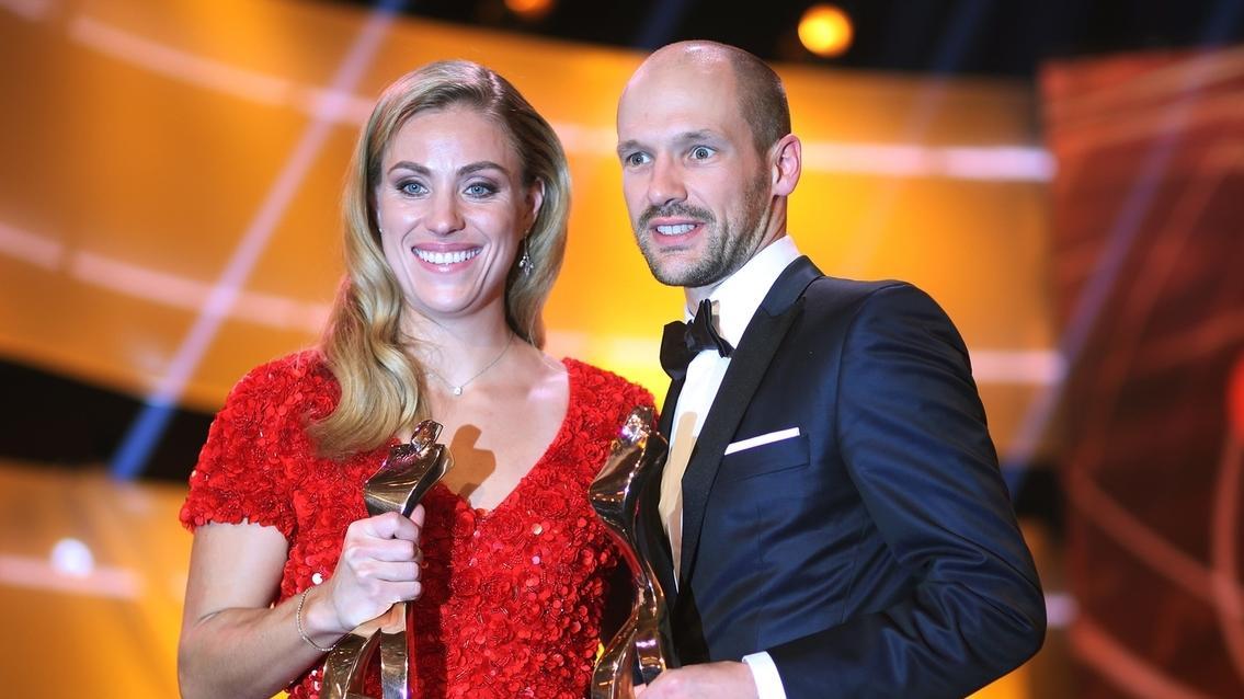 Angelique Kerber und Patrick Lange