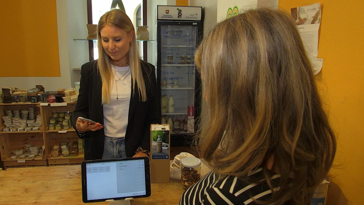 Die Regensburger Studentin Lea Frank hat eine Kassenzettel-App mitentwickelt
