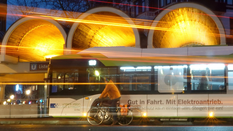 Bus mit Elektroantrieb