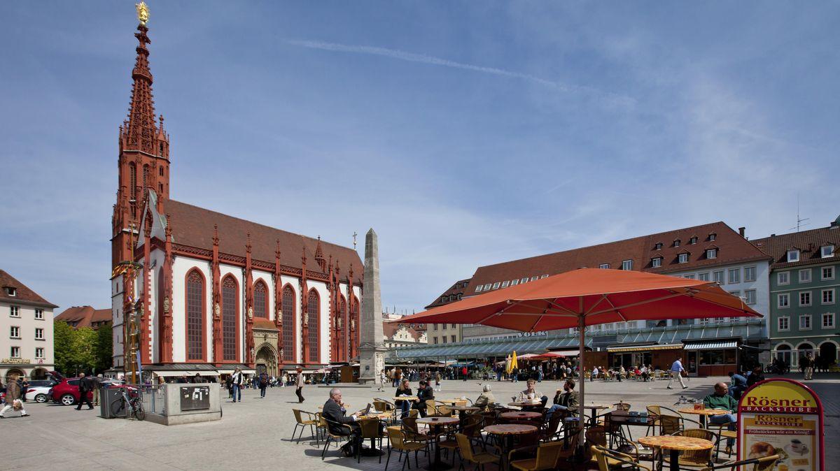 Der Untere Markt in Würzburg