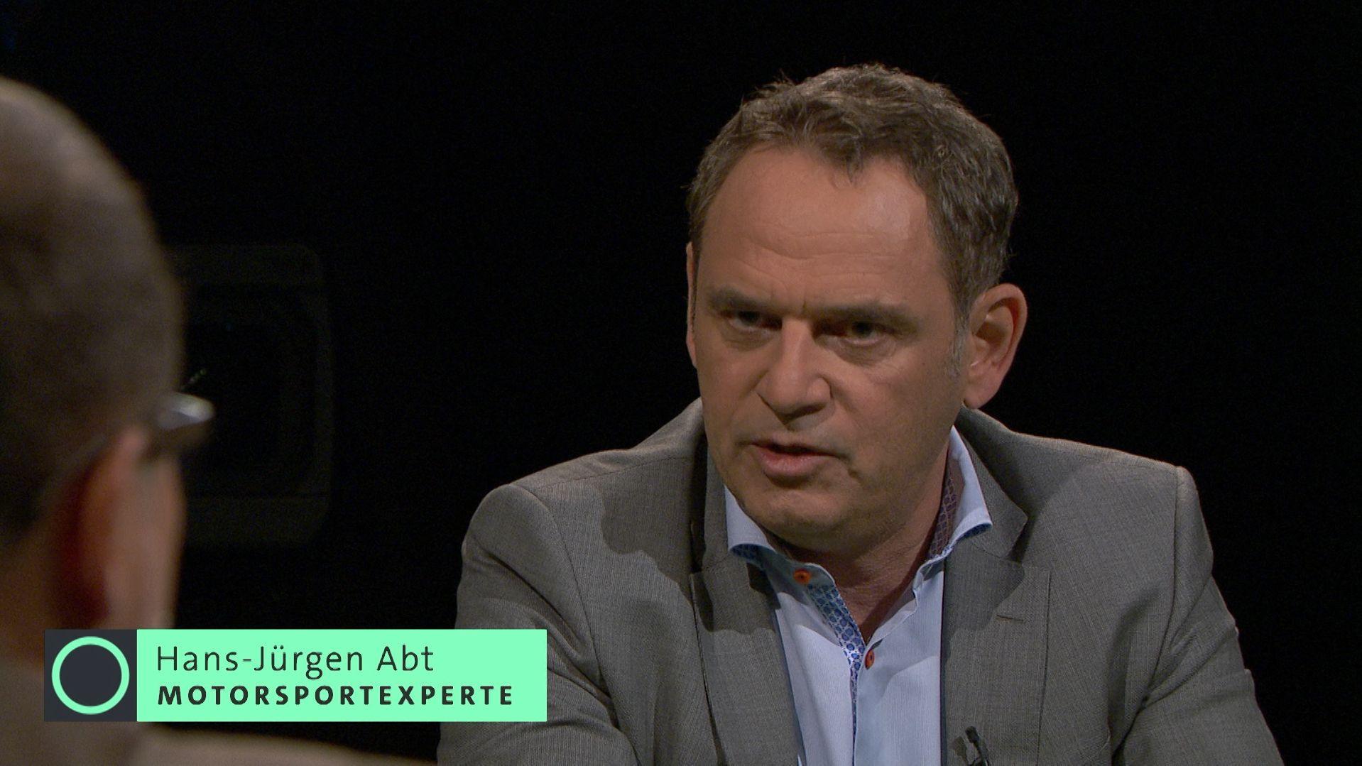 Motorsportexperte Hans-Jürgen Abt