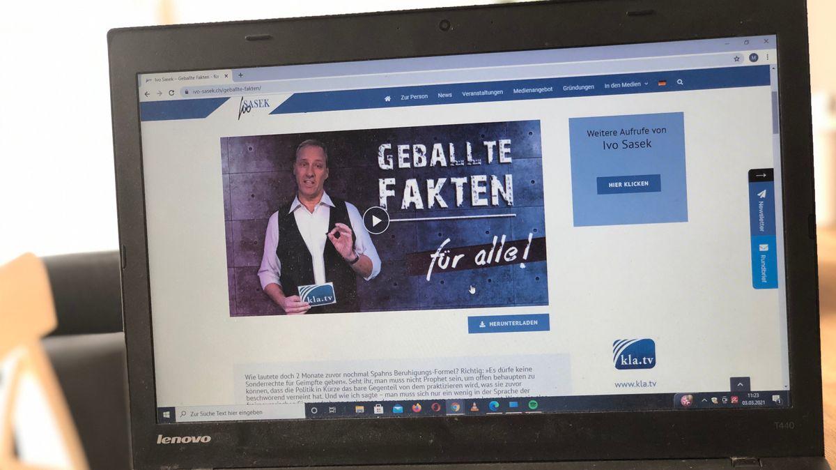 Homepage von Ivo Sasek